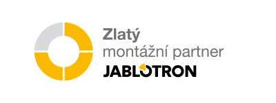 EG-Servis zlatý montážní partner Jablotron